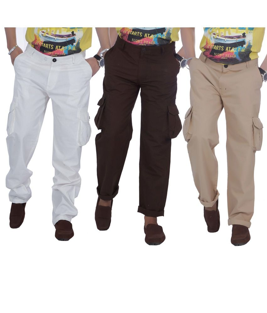 True Fashion Men's Cargo Pant
