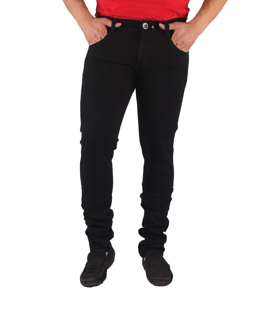 Gasconade Black Slim Fitted Jeans