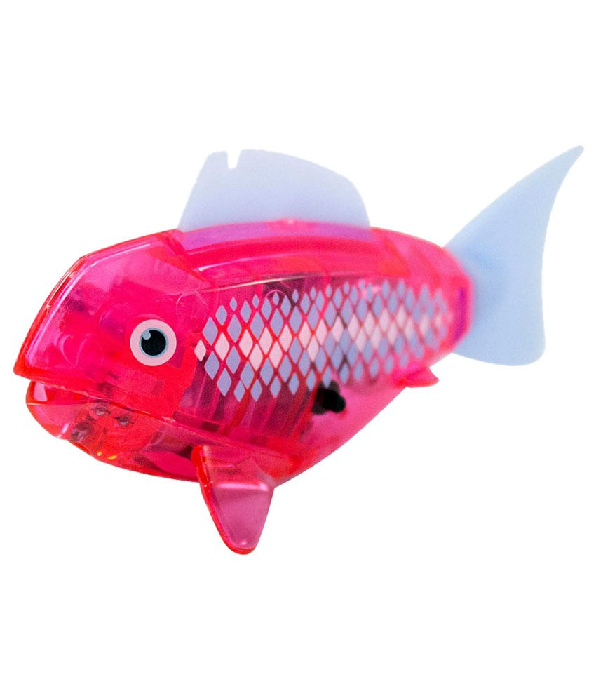 Hexbug aquabot robotic smart fish with deco pink buy for Aquabot smart fish