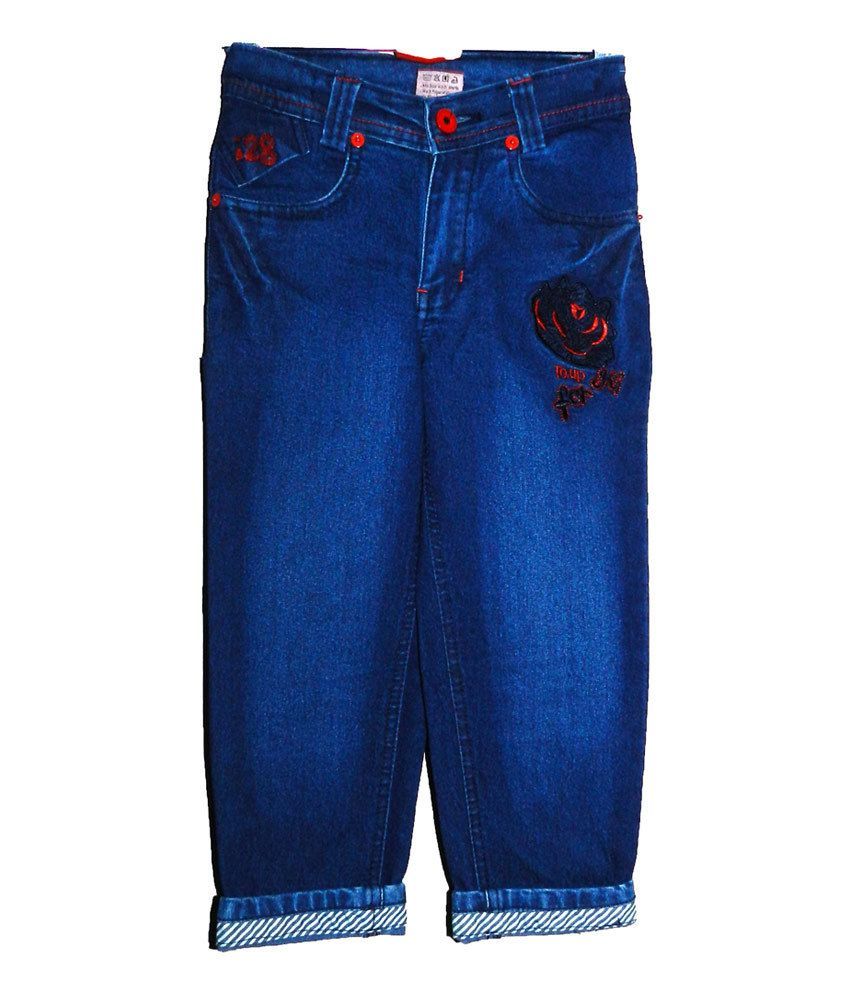 Mcdees Blue Denim Capri