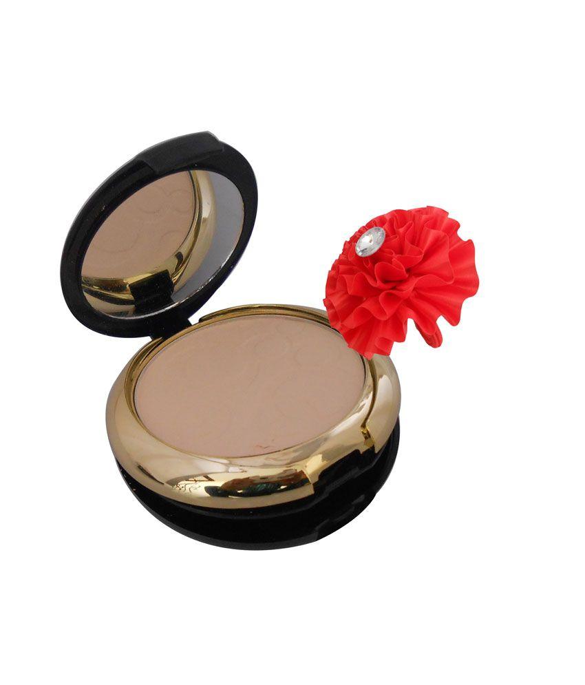 Nyn Gci Compact Powder With Ads Eye Care Kajal - 1 Pc