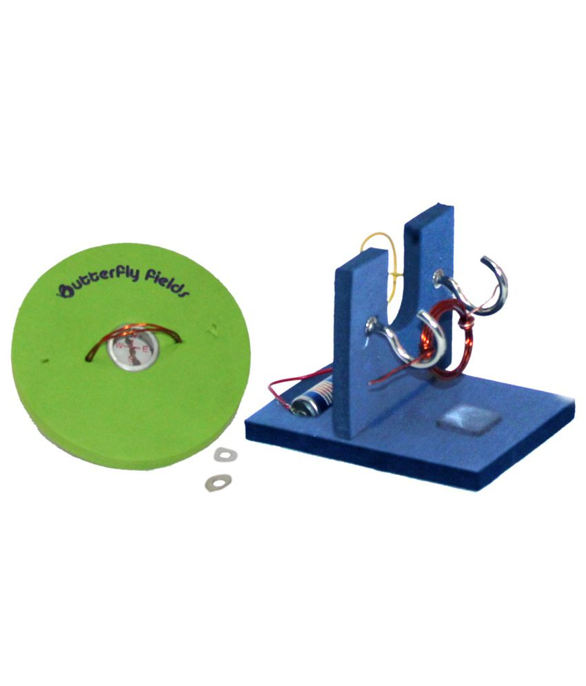 Electric Motor Project Kit: Butterfly Fields Magnetic Effects Of Electric Current