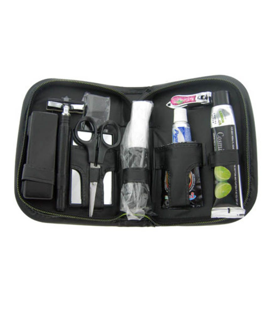 Dhan Distributors Shaving Kit Travel Bag Pack Mens Toprun   Grooming Kits