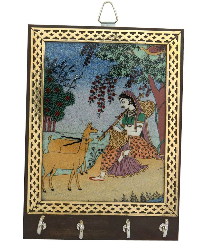 r s jewels meera gemstone painting stand best price in