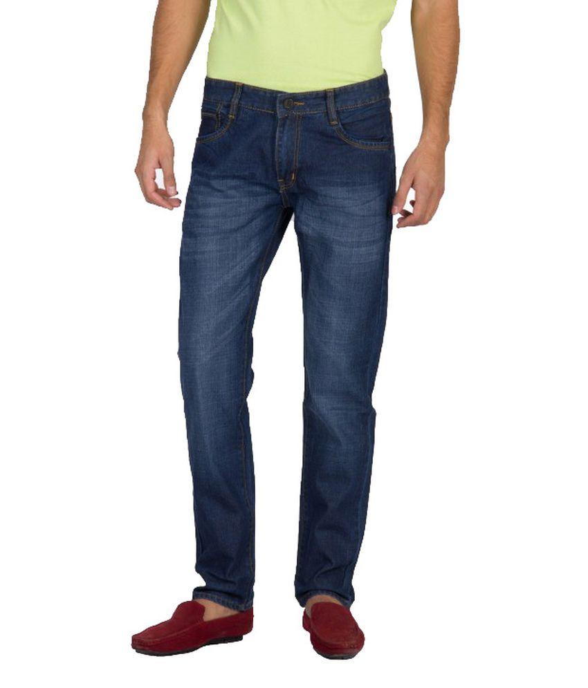 Xpose Zinc Blue Regular Jeans