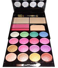 Kiss Beauty Make-up Kit 16 Eyeshadow,2 Blusher,2 Compact And 1 Mascara