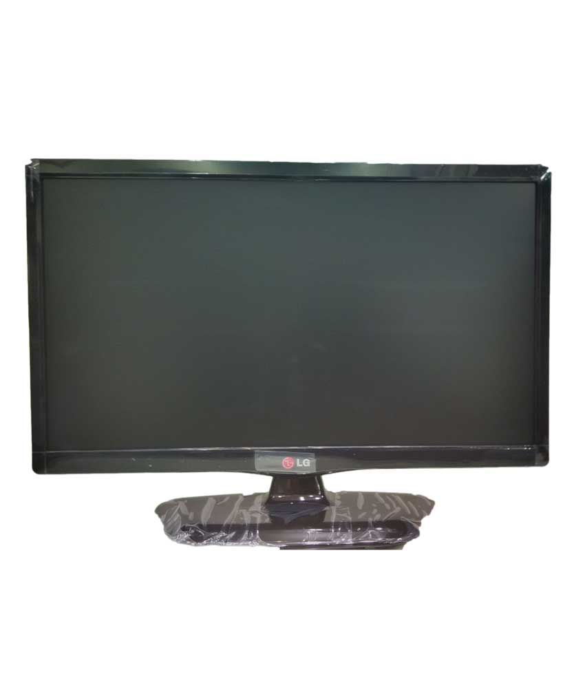 Lg Led Hd Monitor - Black