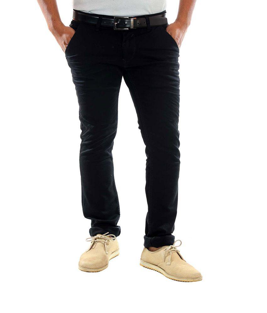 Unison Slim Fit Dark Grey Jeans For Men