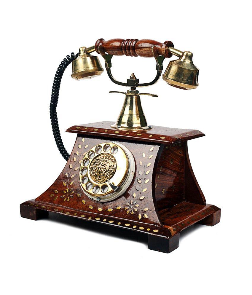 c3d5d6525 Woodstock Antique Operational Telephone Maharaja Style Woodstock Antique  Operational Telephone Maharaja Style ...
