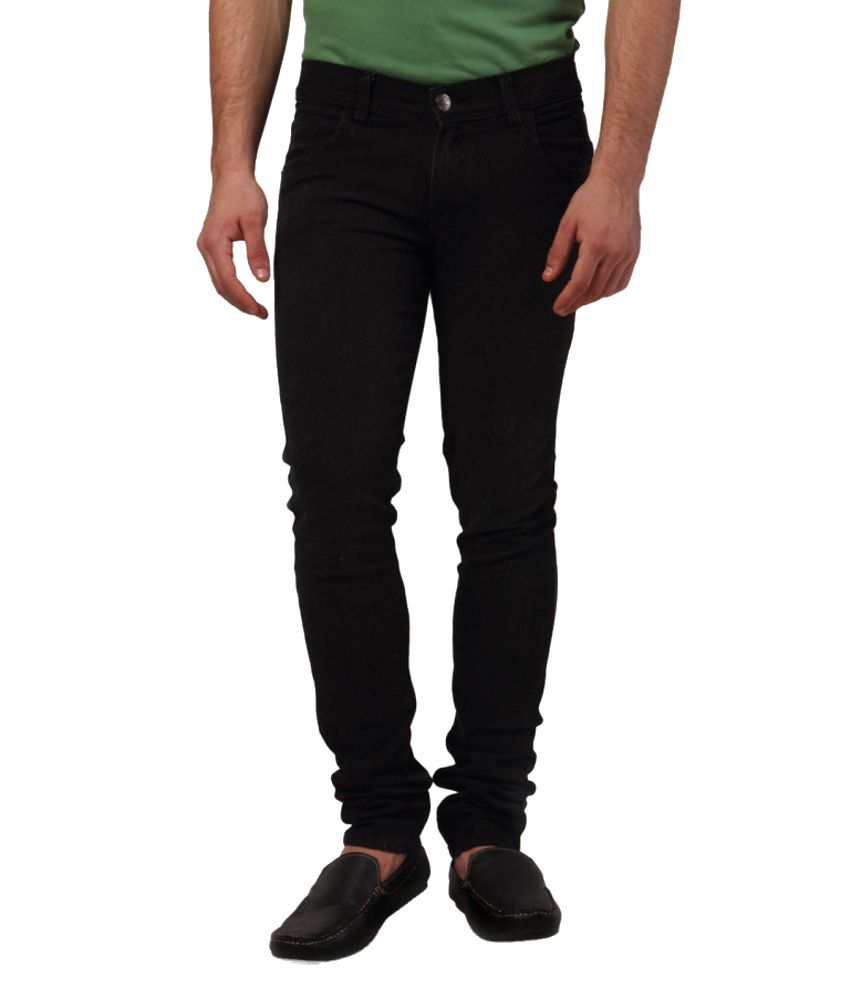 Yepme Black Tapered Jeans