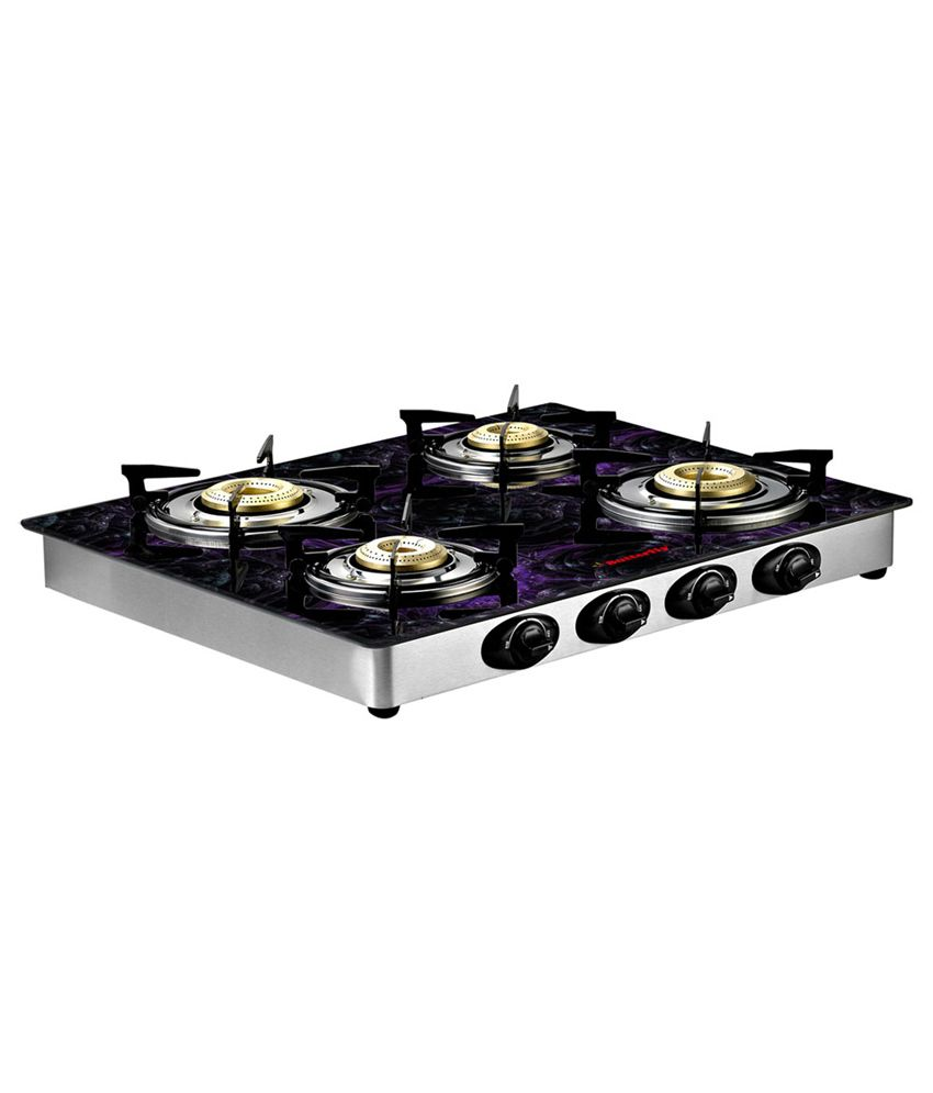 Butterfly Reflection 4 Burner Special Edition (Tulip) Gas Cooktop
