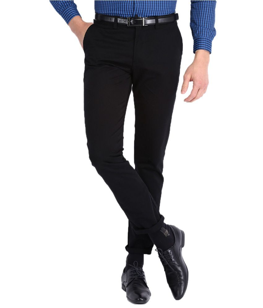 Mark Taylor Black Slim Formals