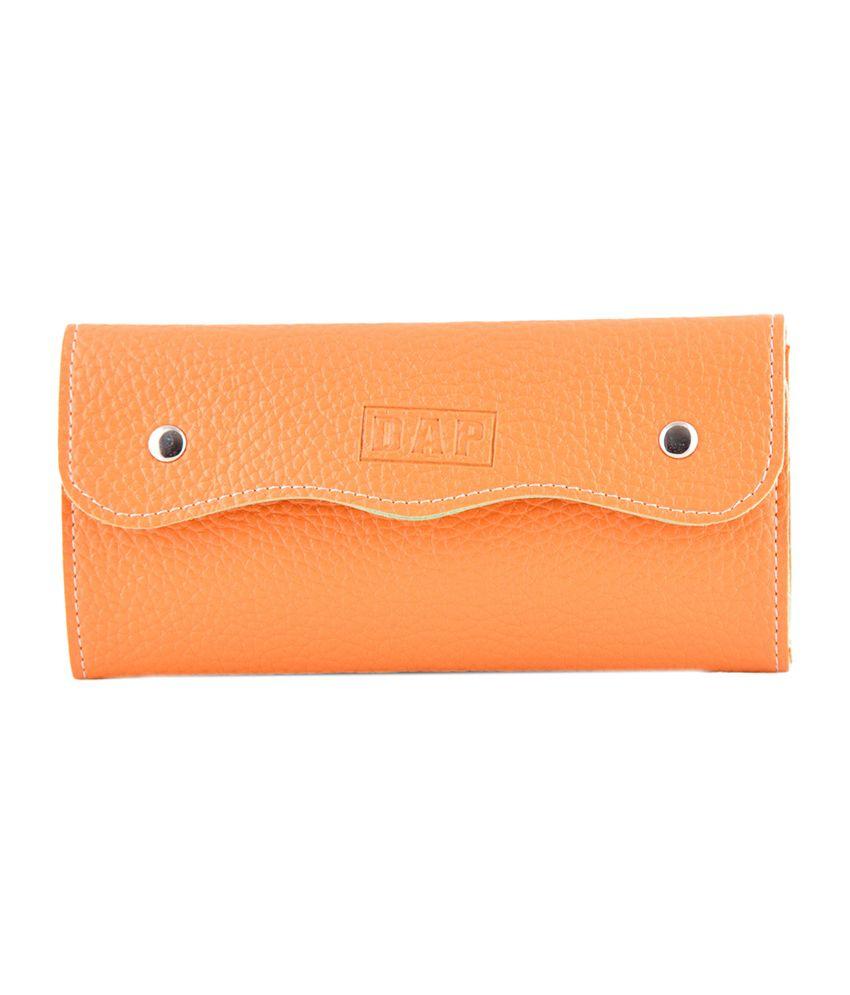 Daphne Xw15-0003or-636 Orange Clutch