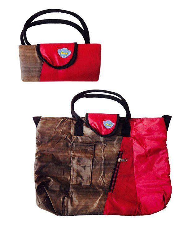 Aabhushanam Multipocket Foldable Utility Bag