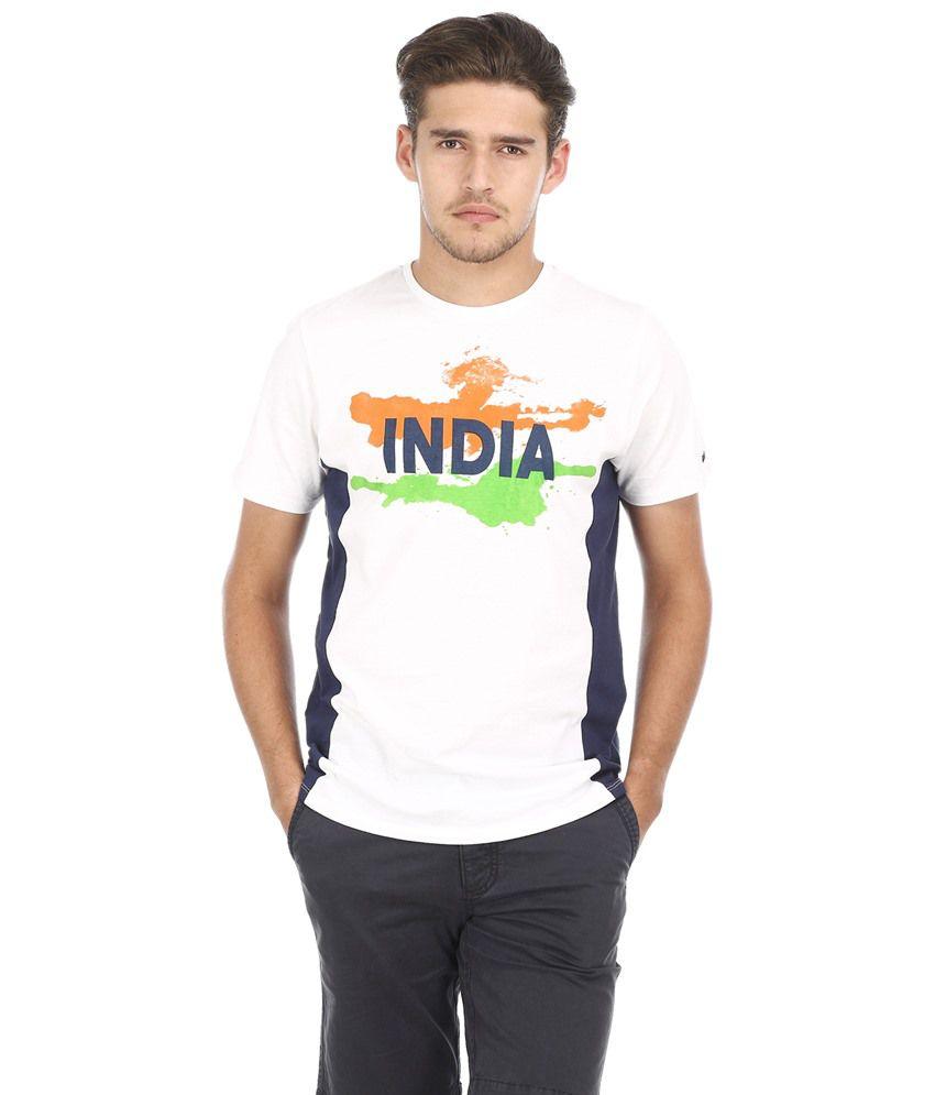 Basics White Cotton T-shirt