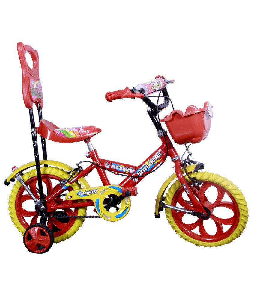 Ny Bikes Red 14t Little Champ Bicycle By Snapdeal @ Rs.1,299