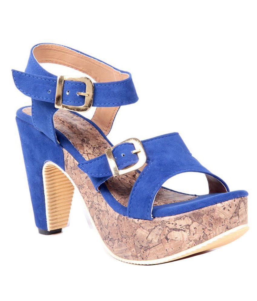 Ten Blue Cone Sandals