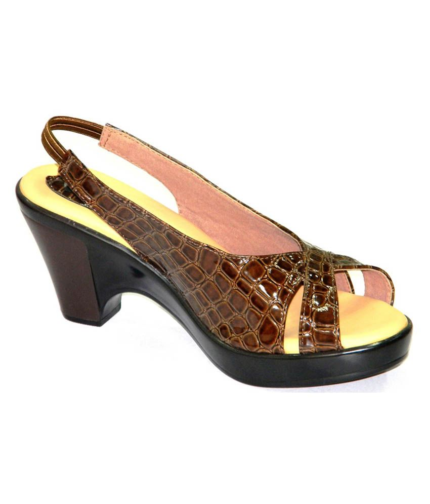 Annie Brown Platforms Women Heeled Sandals
