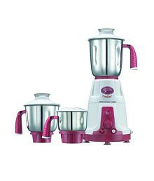 Prestige Deluxe Vs Mixer Grinder-750WATTS (RED & WHITE )