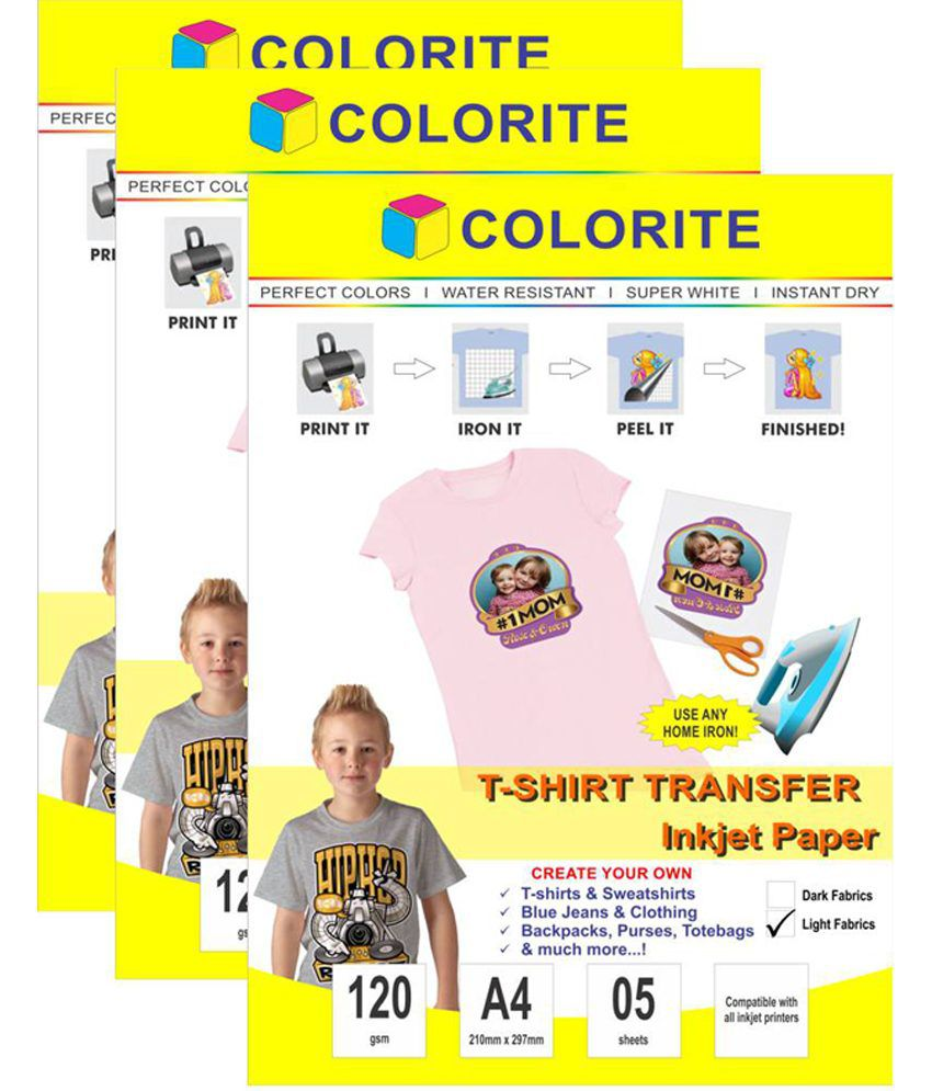 buy iron on transfer paper india