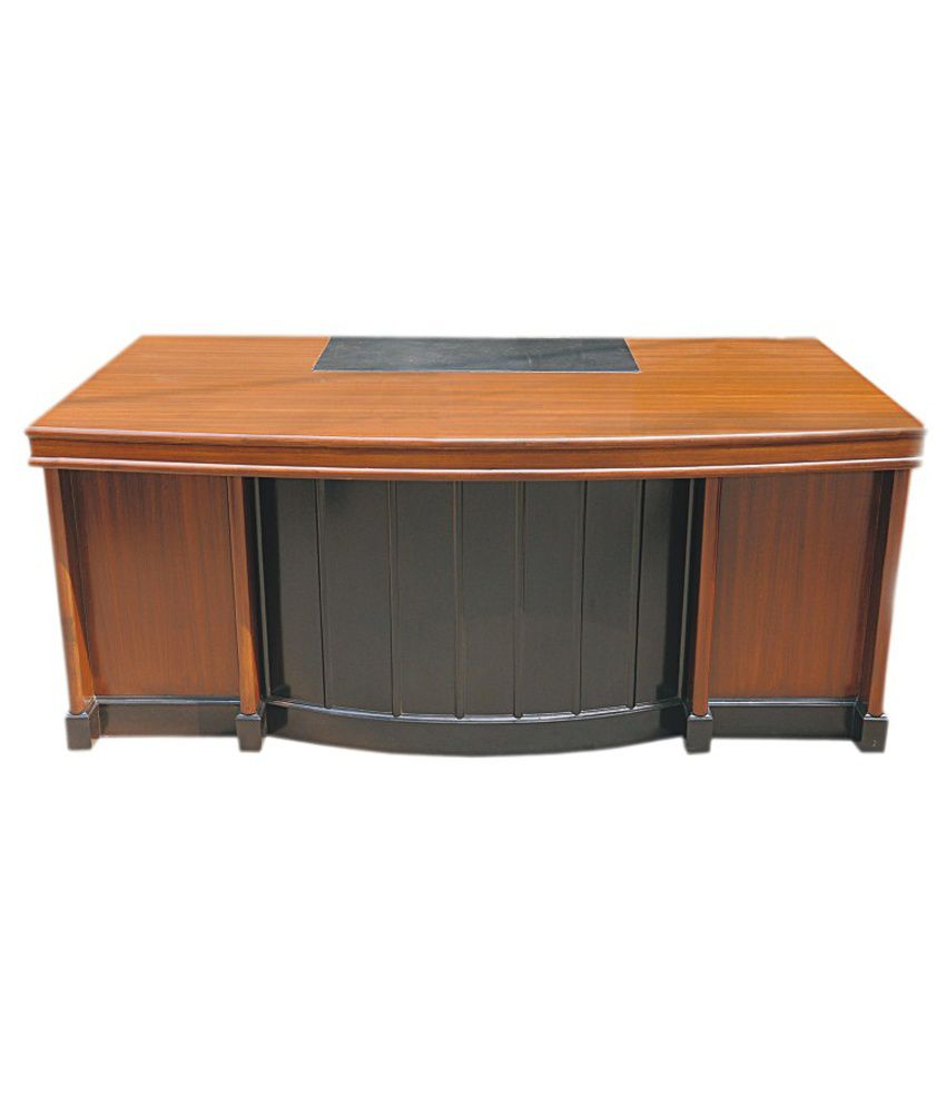 wooden office table. Pasco Modern Wooden Office Table Brown E