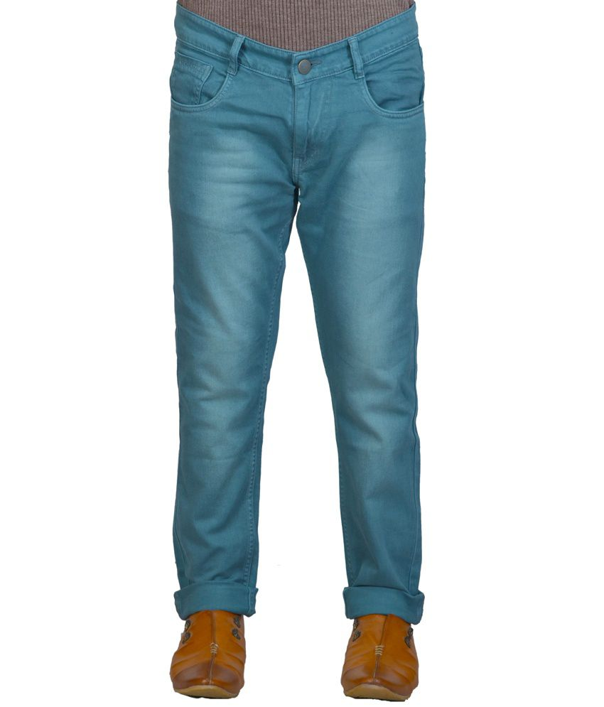 X-CROSS Blue Relaxed Faded