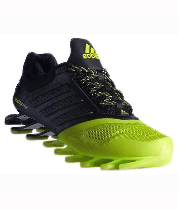 ca9ffe2ff261 Adidas Black And Green Spring Blade Imported Sports Shoes - Buy Adidas Black  And Green Spring Blade Imported Sports Shoes Online at Best Prices in India  on ...