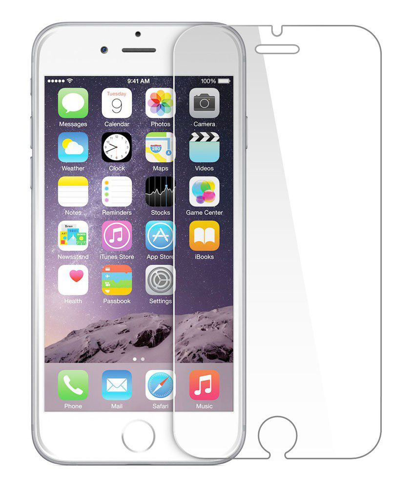 Av Enterprises Premium Quality Front And Back Tempered Glass Screen Guard For Apple Iphone 6