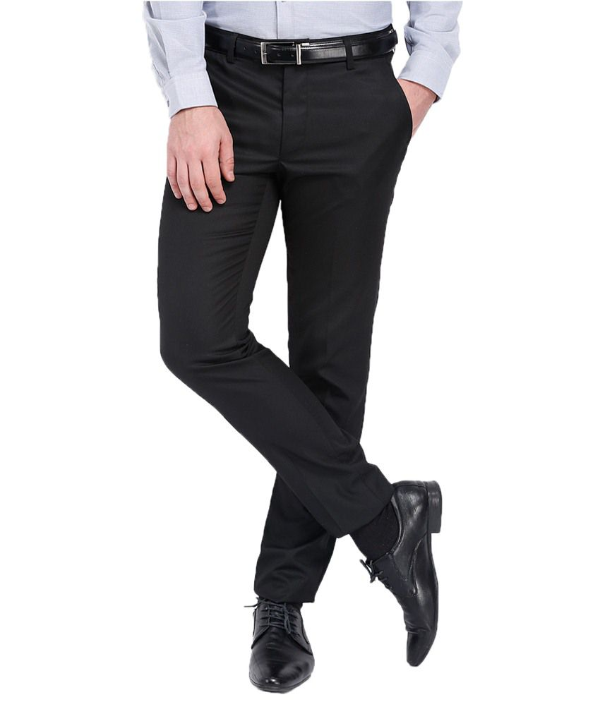 Black Coffee Black Formal Trouser
