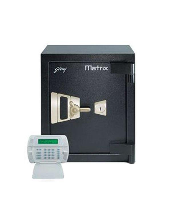 Godrej Safe - Matrix 1814 - Kl Kl With I - Warn