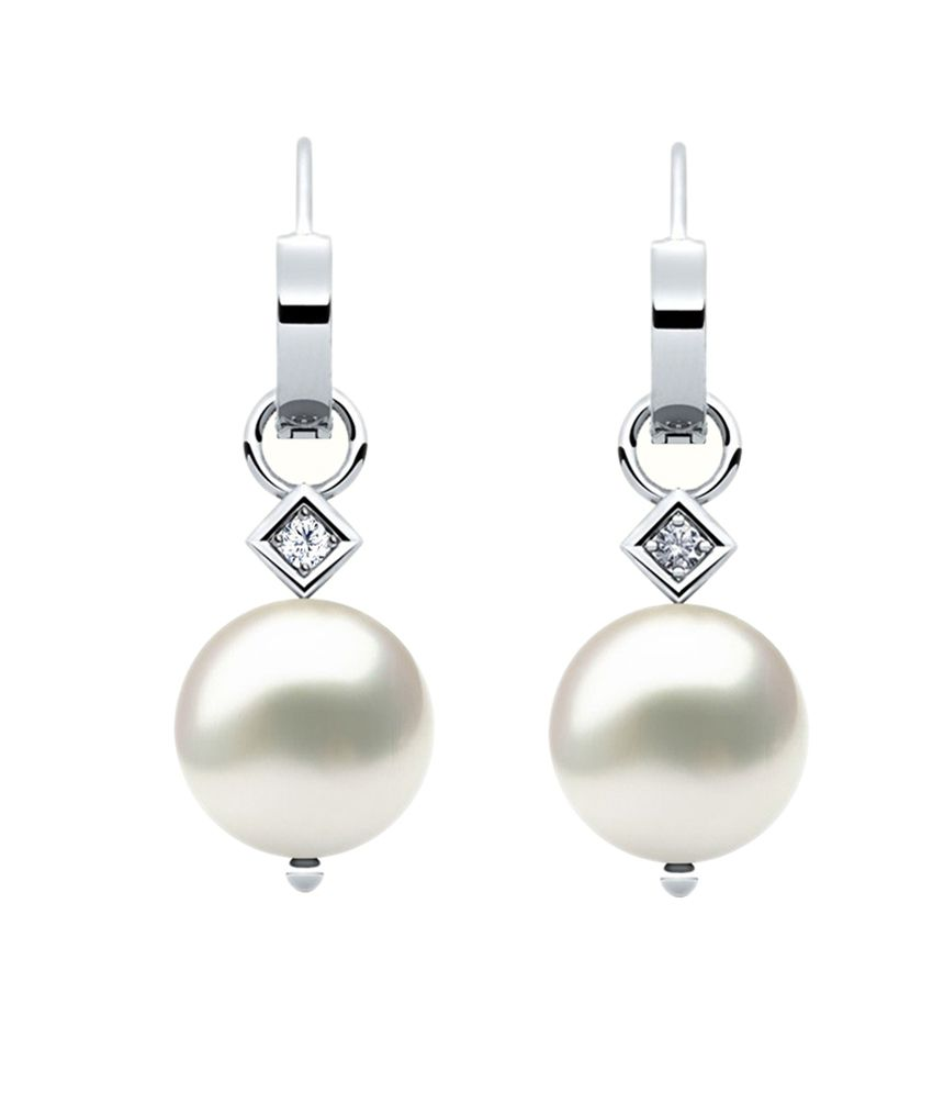Jacknjewel 14kt Gold Fresh Pearl Earrings