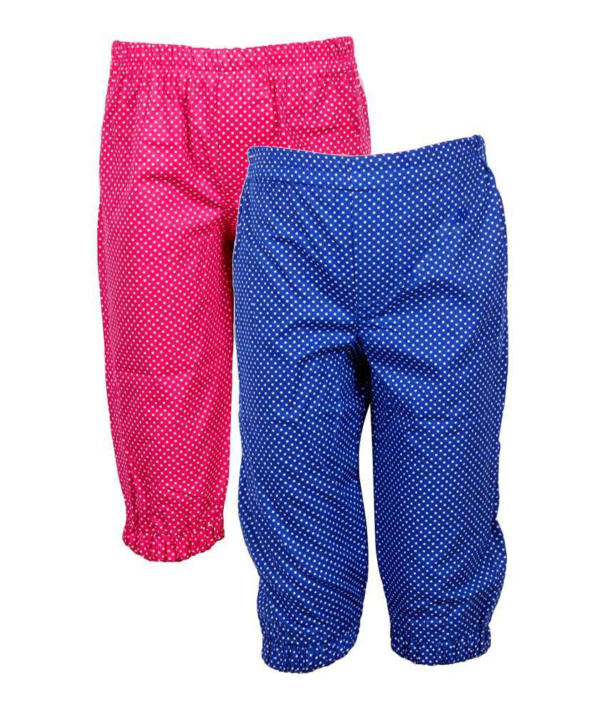 Jazzup Cotton Printed Capris Pack Of 2