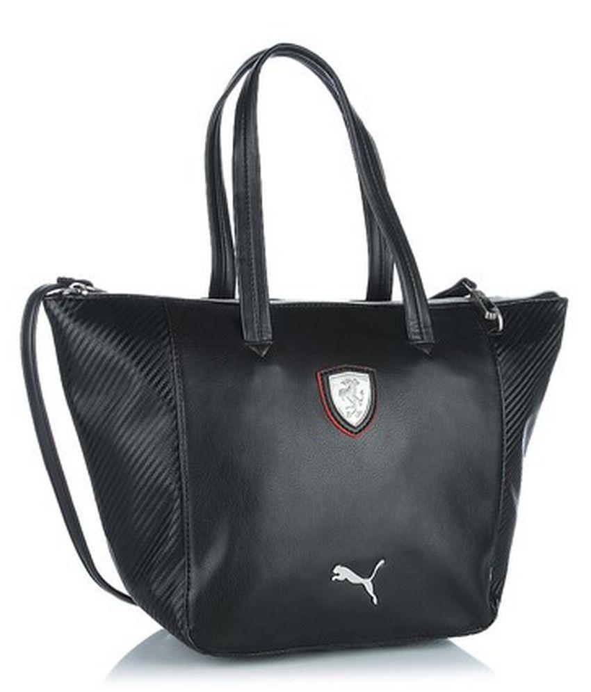 dbadef88ab45 Puma Black Ferrari Handbag - Buy Puma Black Ferrari Handbag Online at Best  Prices in India on Snapdeal