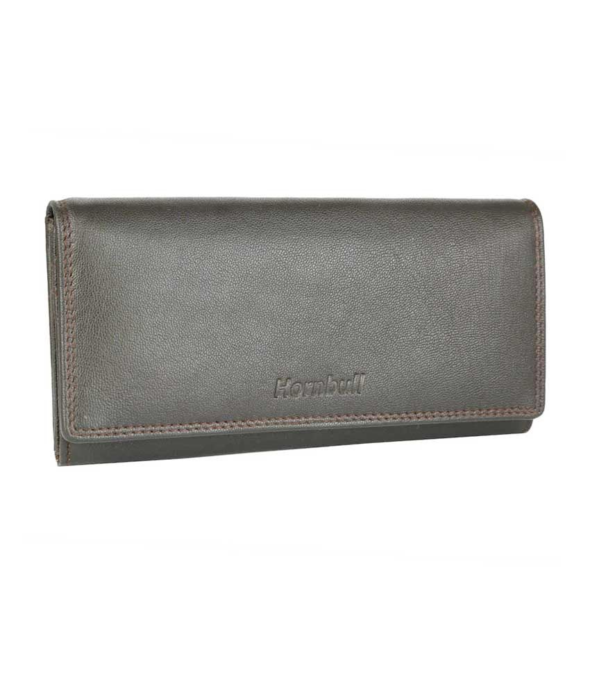 Hornbull Iconic Leather Women's Wallet - Brown