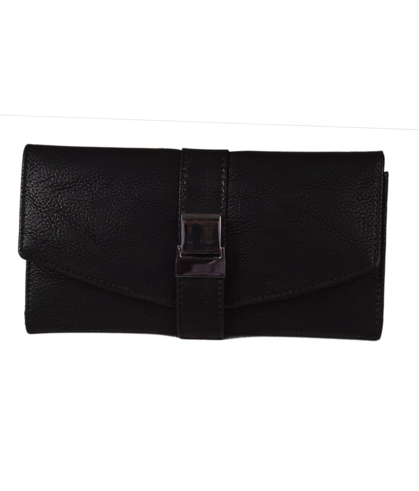 Top-zone Black Wallet