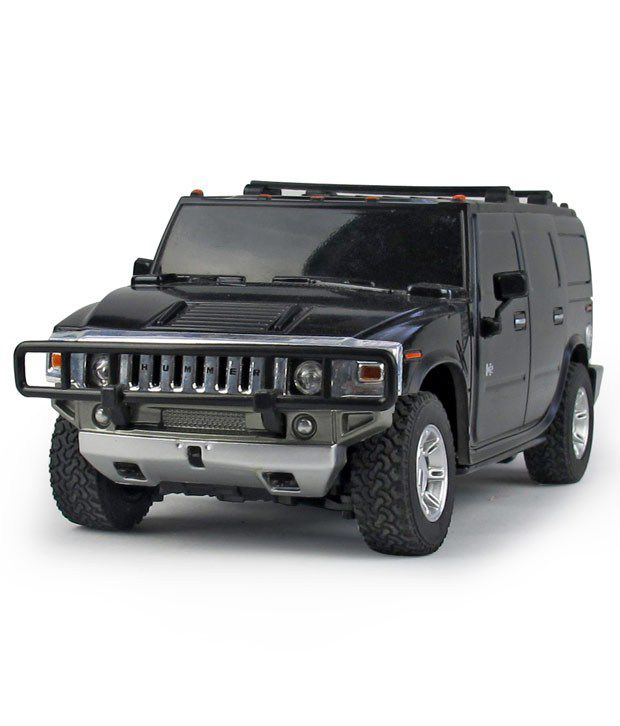 Fantasy India Black Remote Controlled Hummer H2 Suv Toy Car