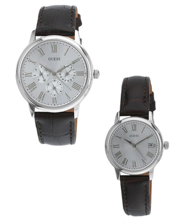 e1c9c7de0 Guess W18552p2 Couple Watch Price in India: Buy Guess W18552p2 Couple Watch  Online at Snapdeal