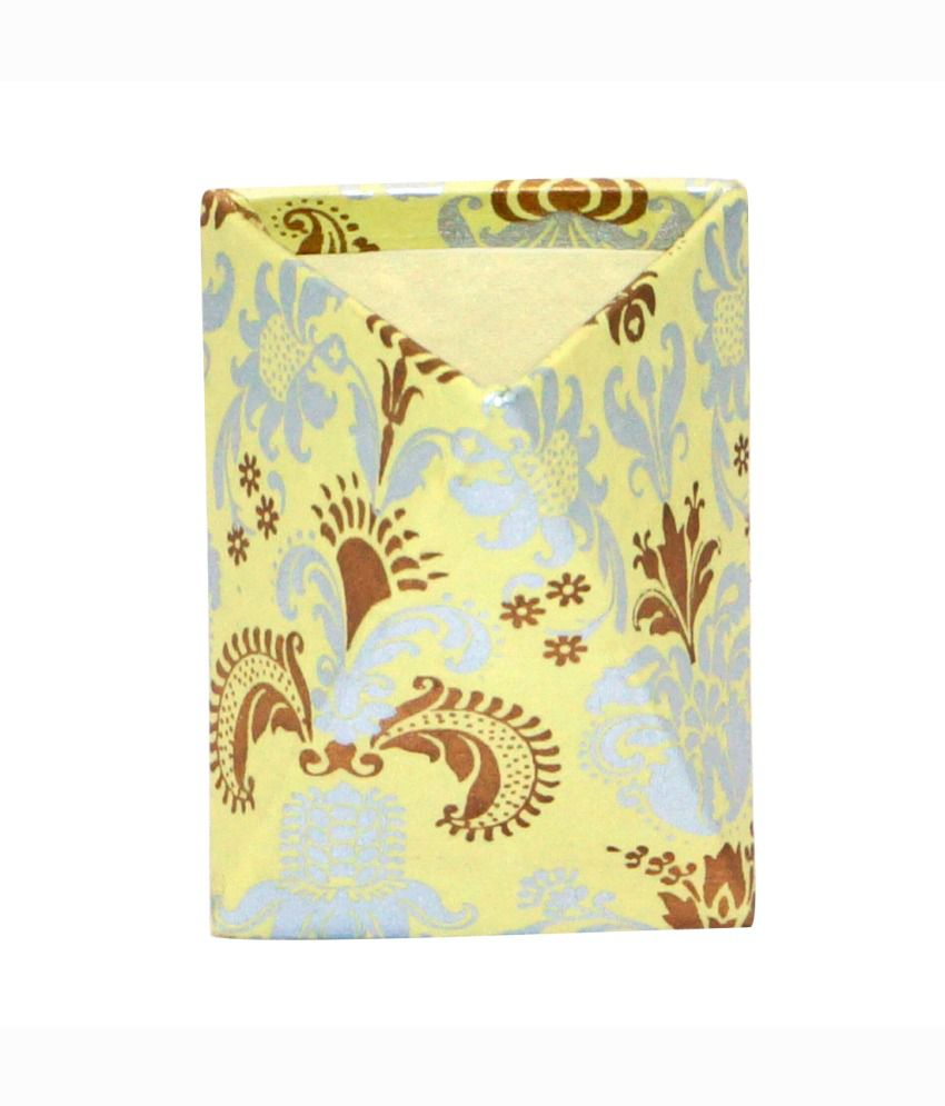 Handmade Pen Stand Designs : R s jewels handmade paper flora designs pen holder stand