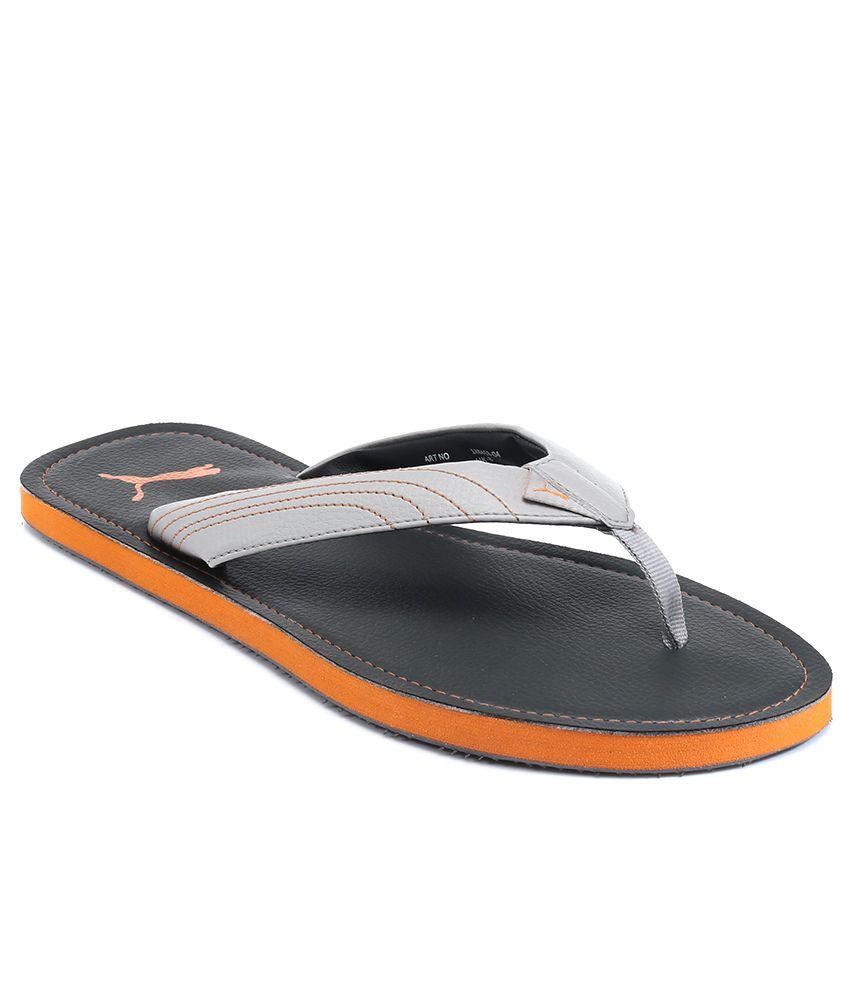 51e844223938fa Puma Ketava Dp Gray Flip Flops Price in India- Buy Puma Ketava Dp Gray Flip  Flops Online at Snapdeal