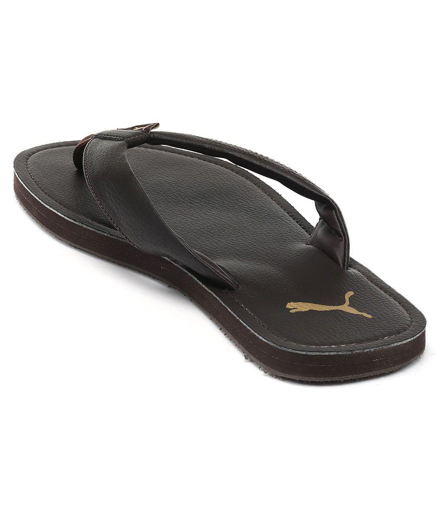 Puma Ketava Dp Brown Slippers Price in India- Buy Puma Ketava Dp ... 88135ffb1f