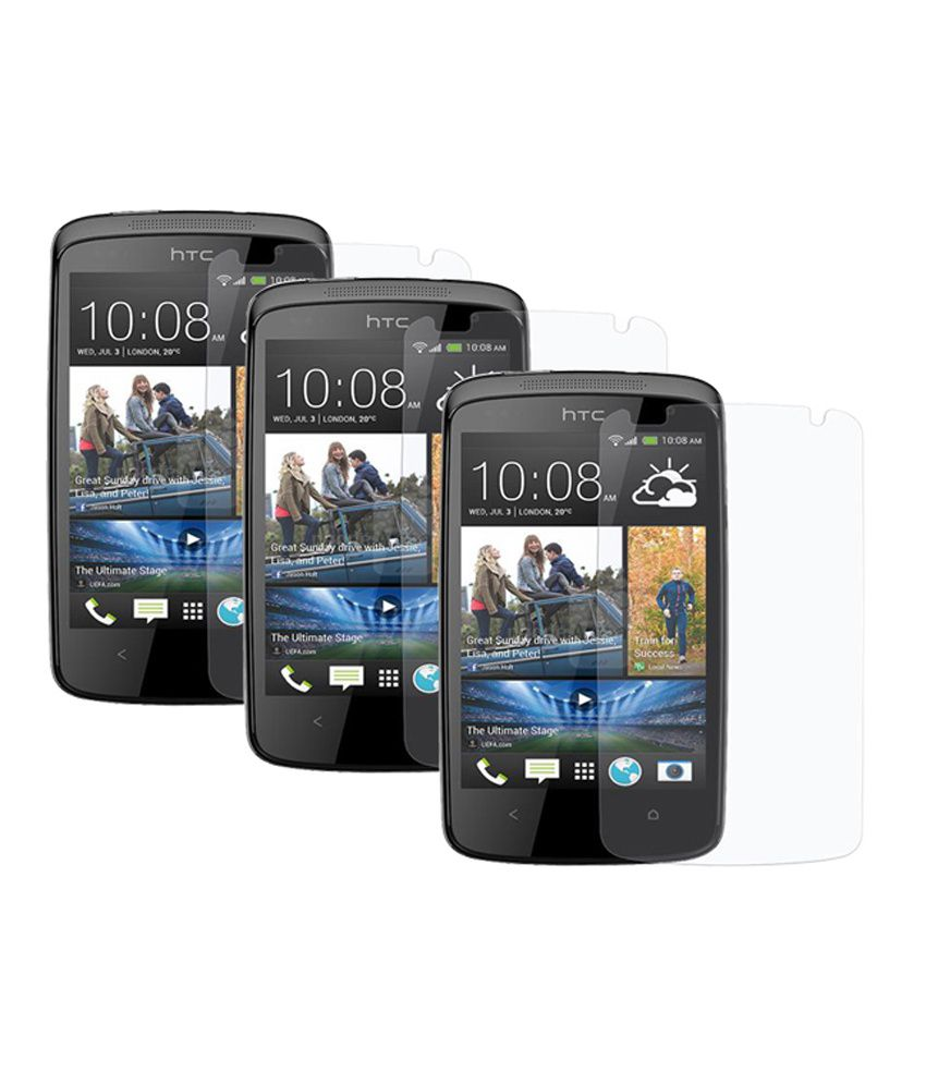 Htc One Max ( Combo Pack 3 ) Screen Guard by Saadgi Collections
