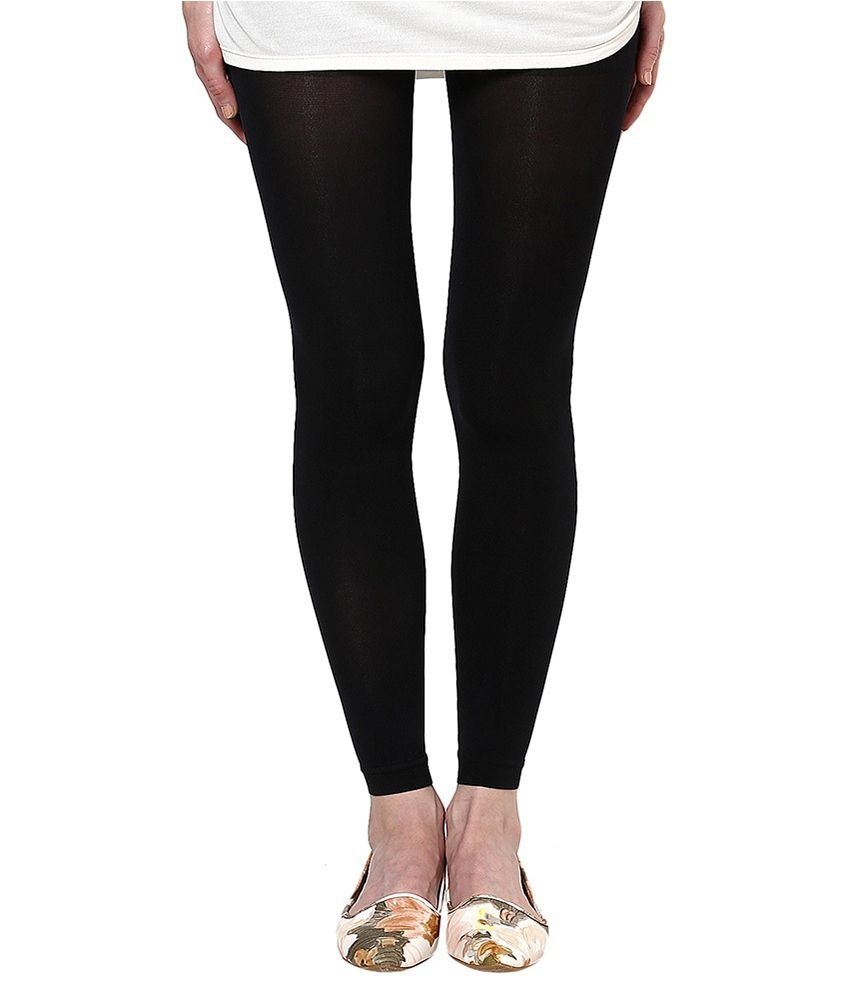 8f537865f02 Buy American Swan Black Nylon Tights Online at Best Prices in India -  Snapdeal