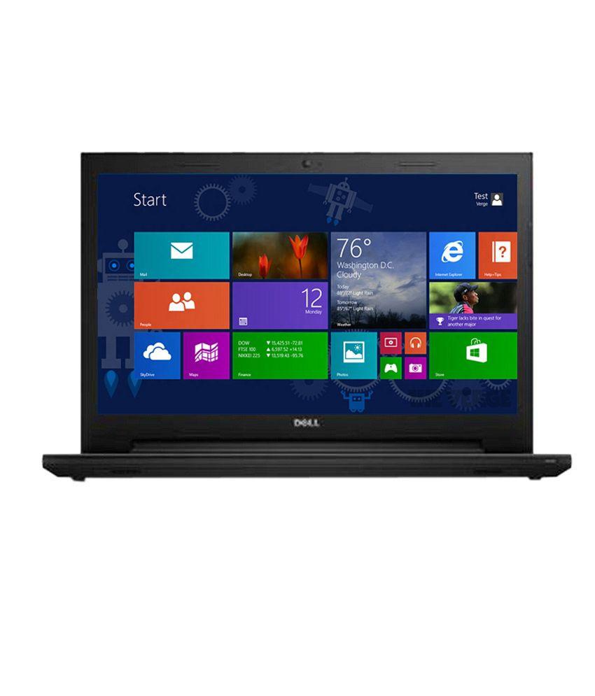 Dell Inspiron 15 3543 Notebook (5th Gen Intel Core i5- 8GB RAM- 1TB HDD- 39.62cm (15.6)- Windows 8.1) (Black)
