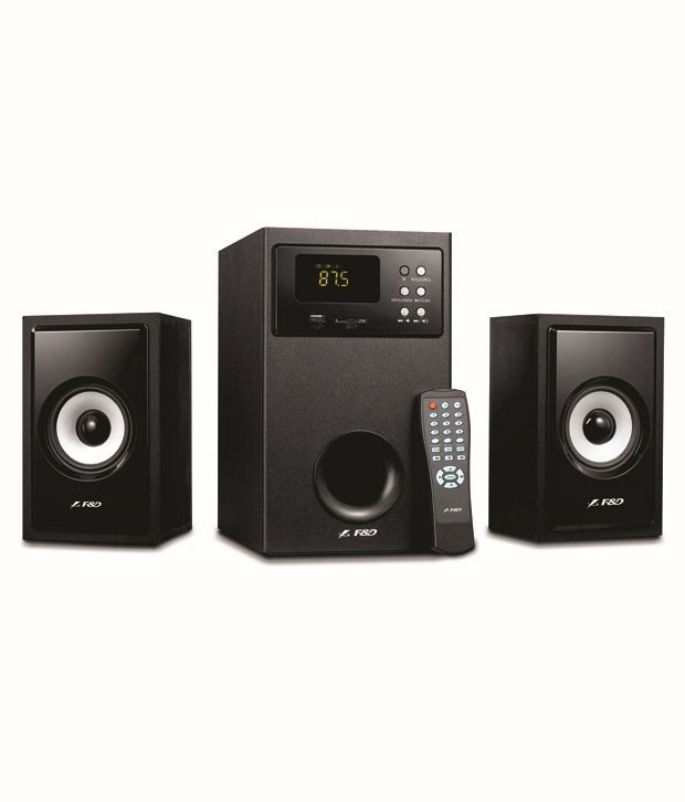 F&D A555U 2.1 Multimedia Speakers