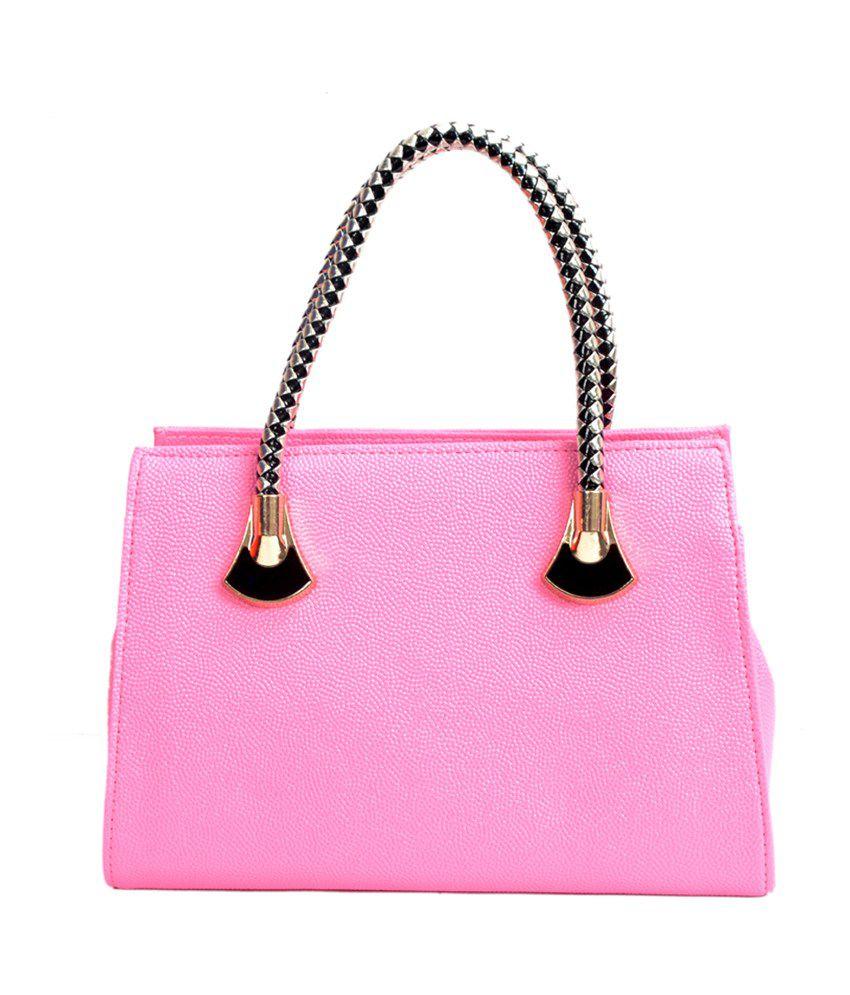 Gouri Pink Stylish Zip Shoulder Bag