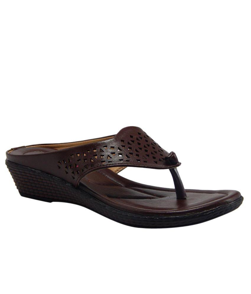 Gs Footwear Brown Sandal