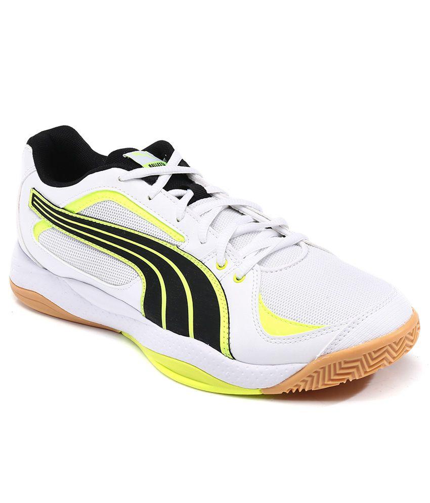 Puma Ballesta white-black-fluro yellow Kaufen Online-Shop