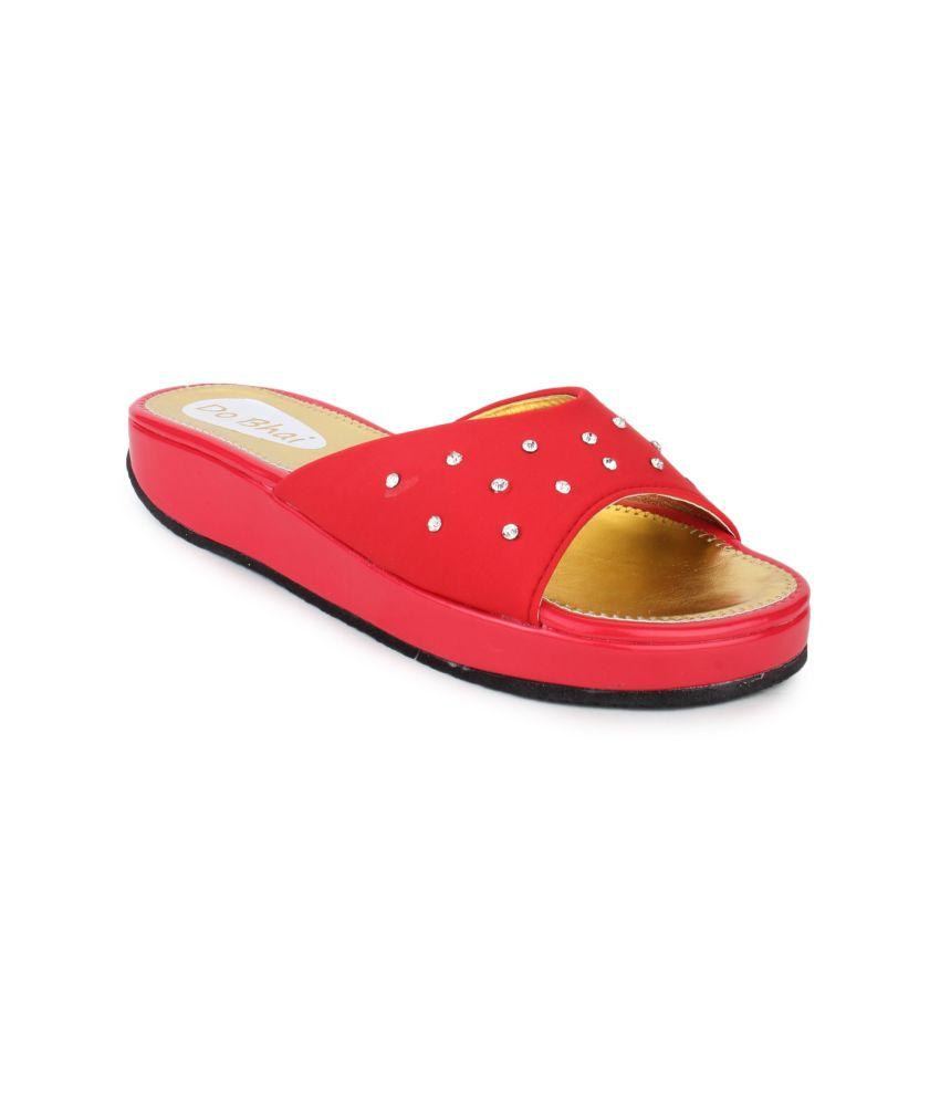 Do Bhai Women's Smart Casual Heeled Sandals