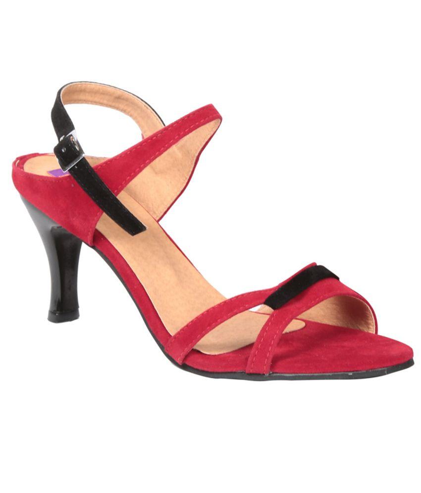 Fiorella Amazing Red Heeled Sandals