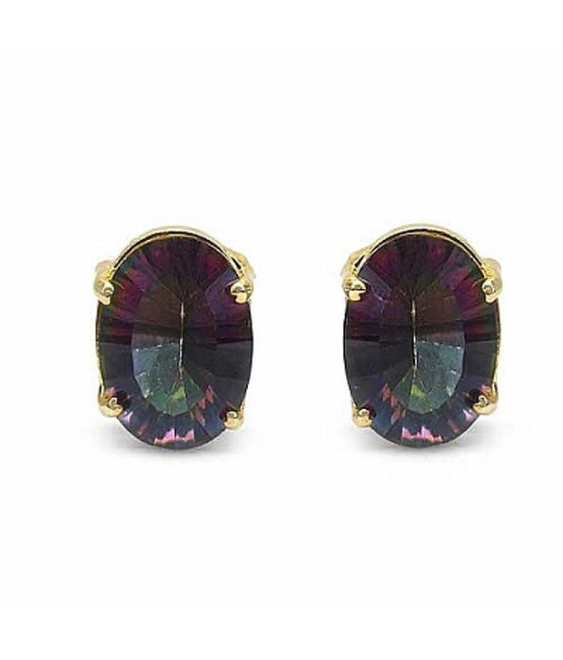 Masterpieces Mystic Topaz Chandelier Earrings